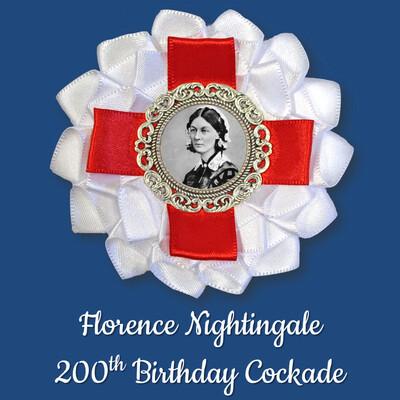 Florence Nightingale 200th Birthday Cockade