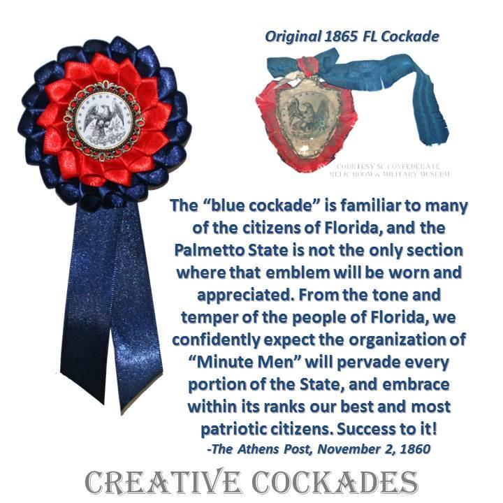 Florida Secession Cockade