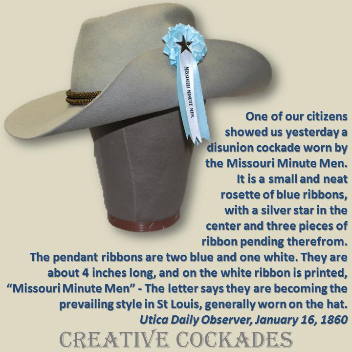 Missouri Secession Cockade
