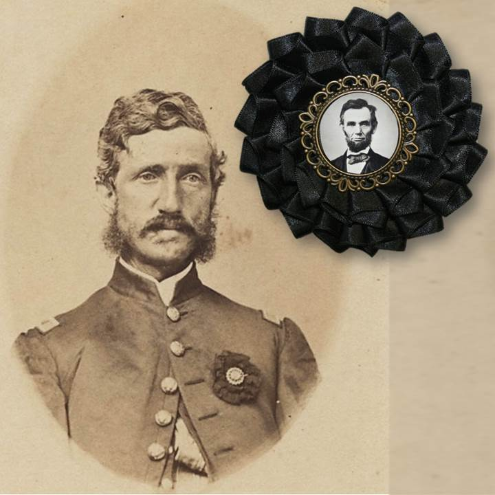 Lincoln Mourning Cockade