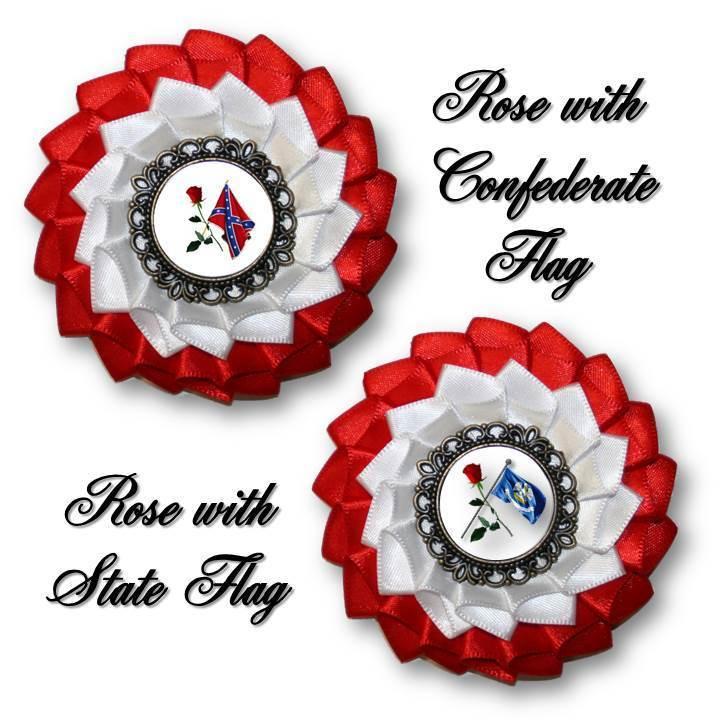 Order of Confederate Rose Cockade