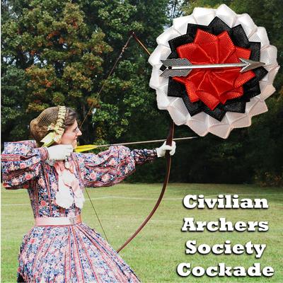 Civilian Archers Society Cockade