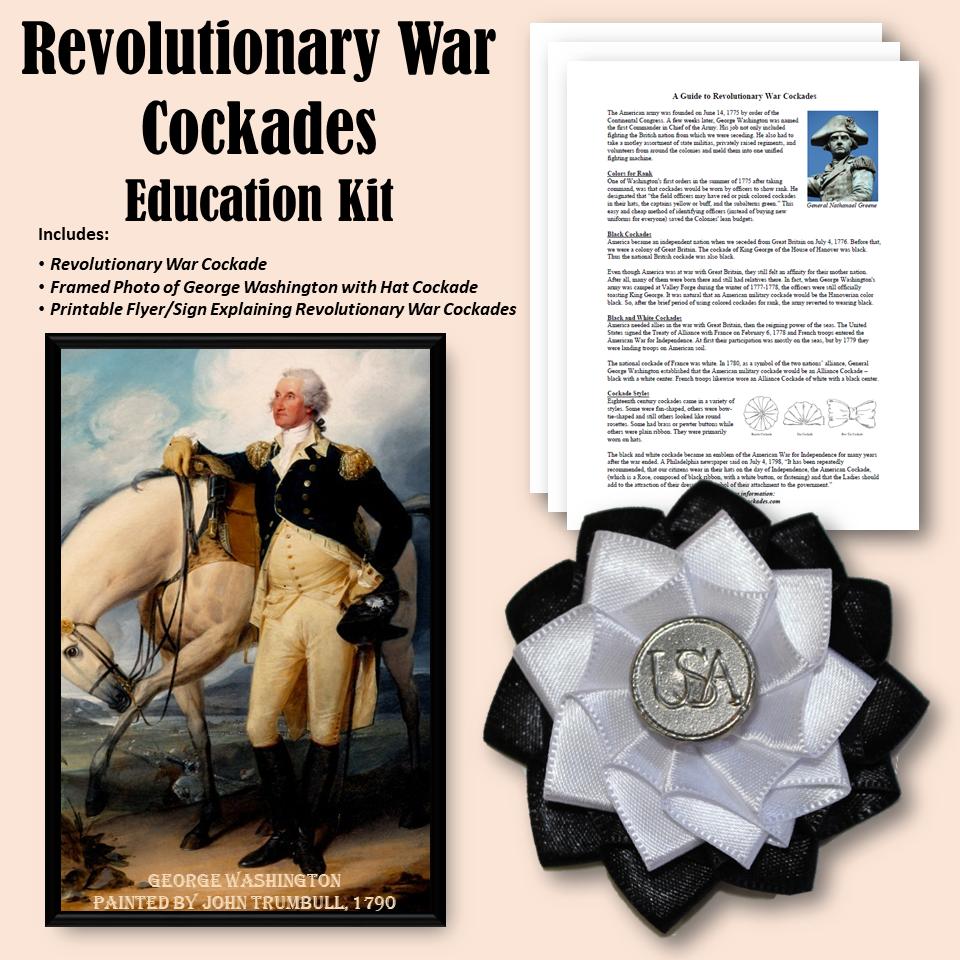 Revolutionary War Cockades - Education Kit