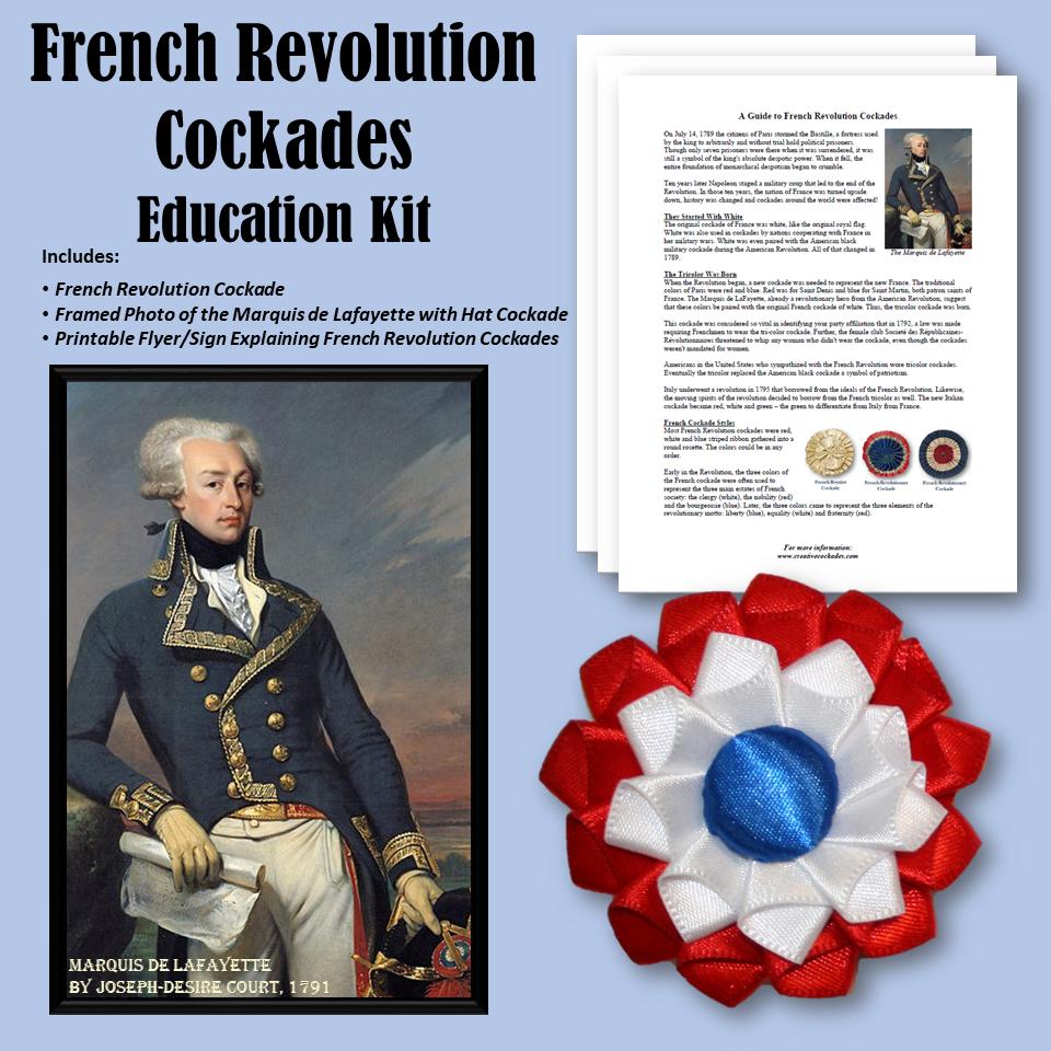 French Revolution Cockades - Education Kit