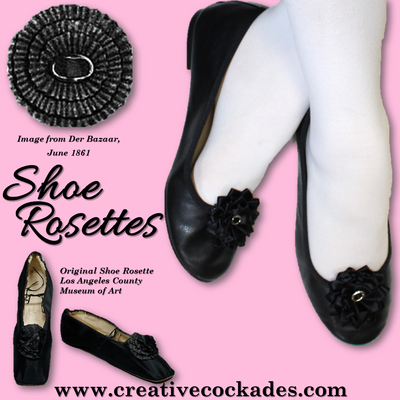Silk Shoe Rosettes