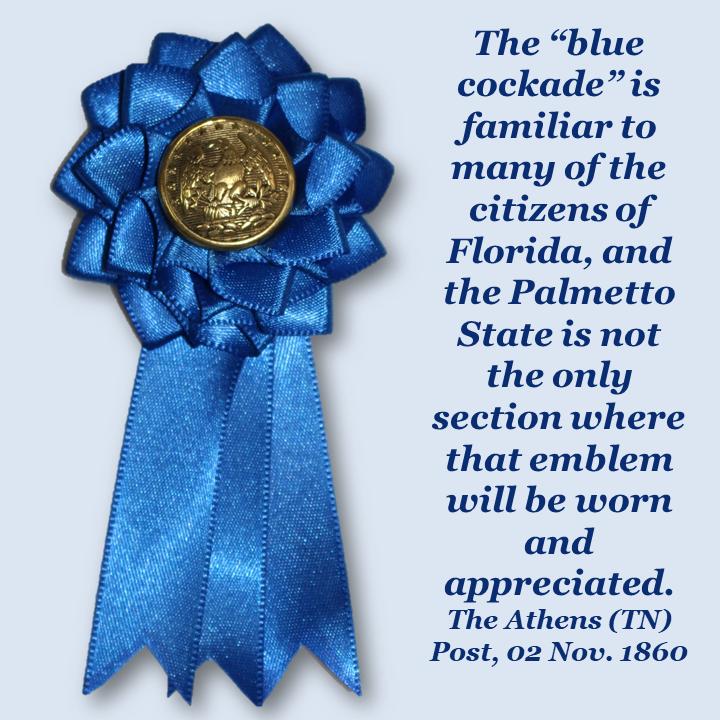 Florida Blue Secession Cockade
