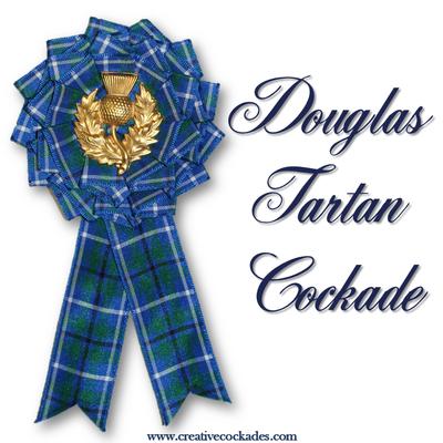 Douglas Tartan Cockade
