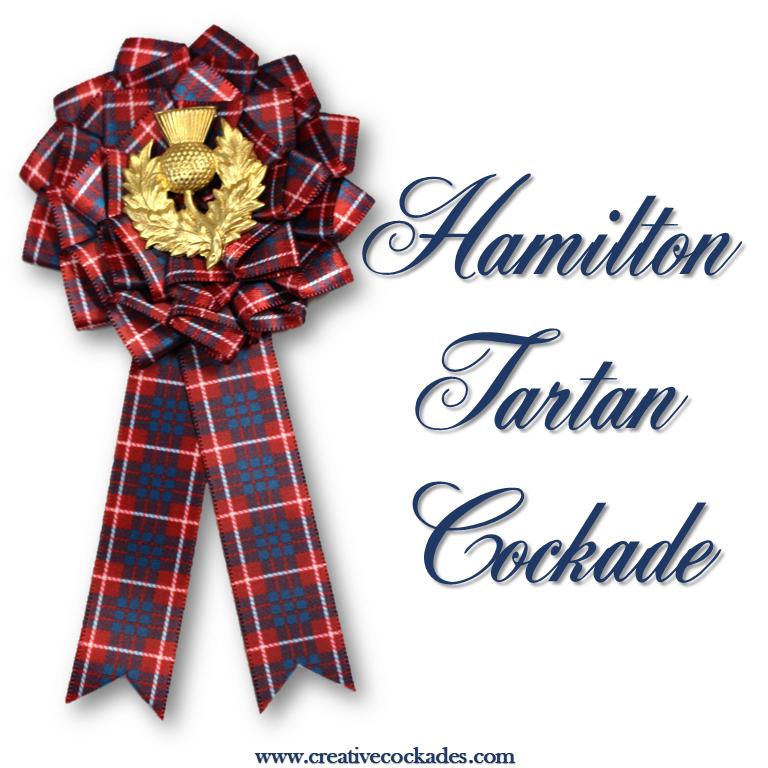 Hamilton Tartan Cockade