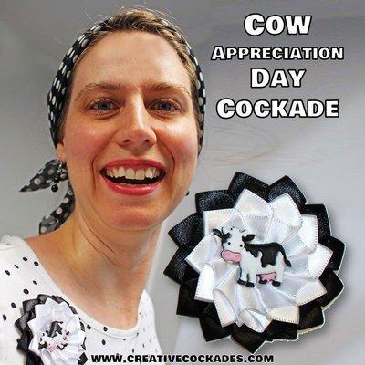 Cow Appreciation Day Cockade