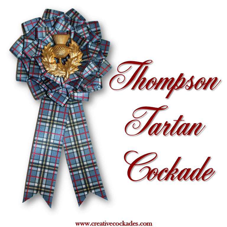 Thompson Tartan Cockade