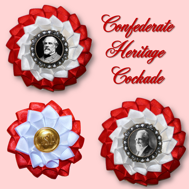 Confederate Heritage Cockade