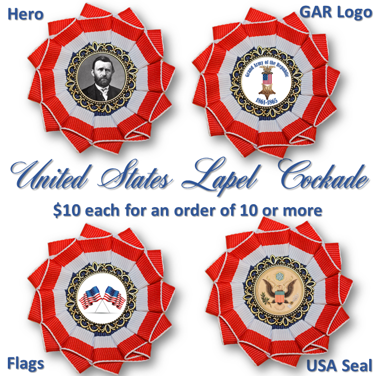 USA Lapel Cockade