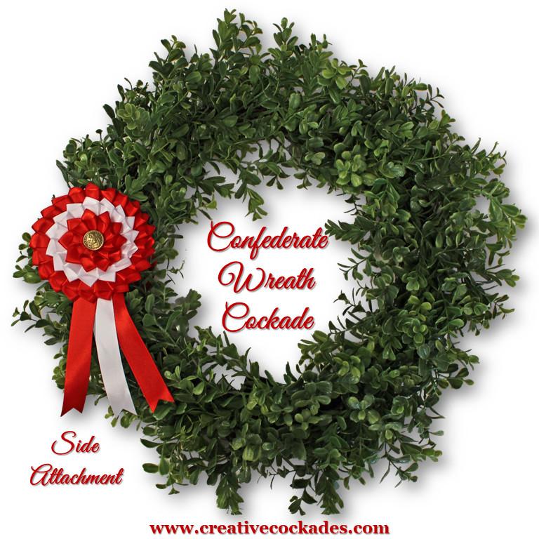 Confederate Wreath Cockade