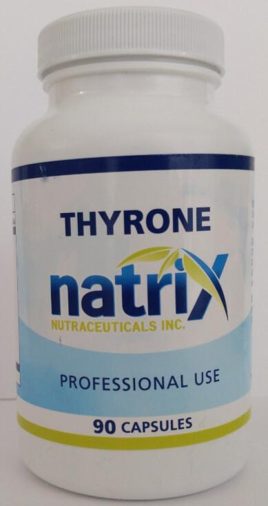 Thyrone Desiccated Thyroid (Prescription)