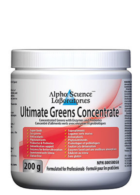 Ultimate Greens Concentrate Powder
