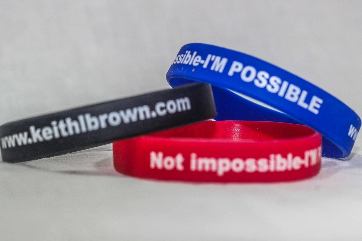 I'm Possible Wristbands (Quantities of 10 & up)