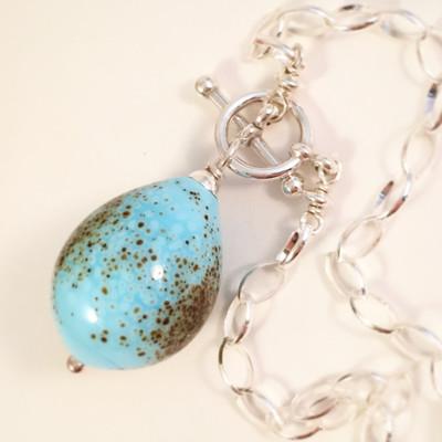 Song sparrow egg bracelet