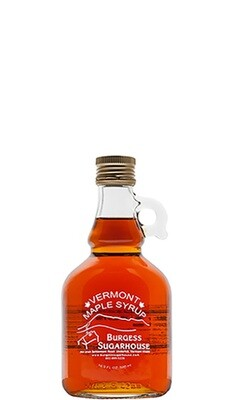 One - 500ml (16.9 fl oz, slightly more than a pint) Glass Jugs of Pure Vermont Maple Syrup