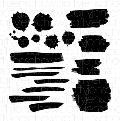 Painted *FREE* Cut File (set of 17)