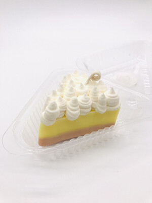 Lemon Meringue Scented Pie Candle