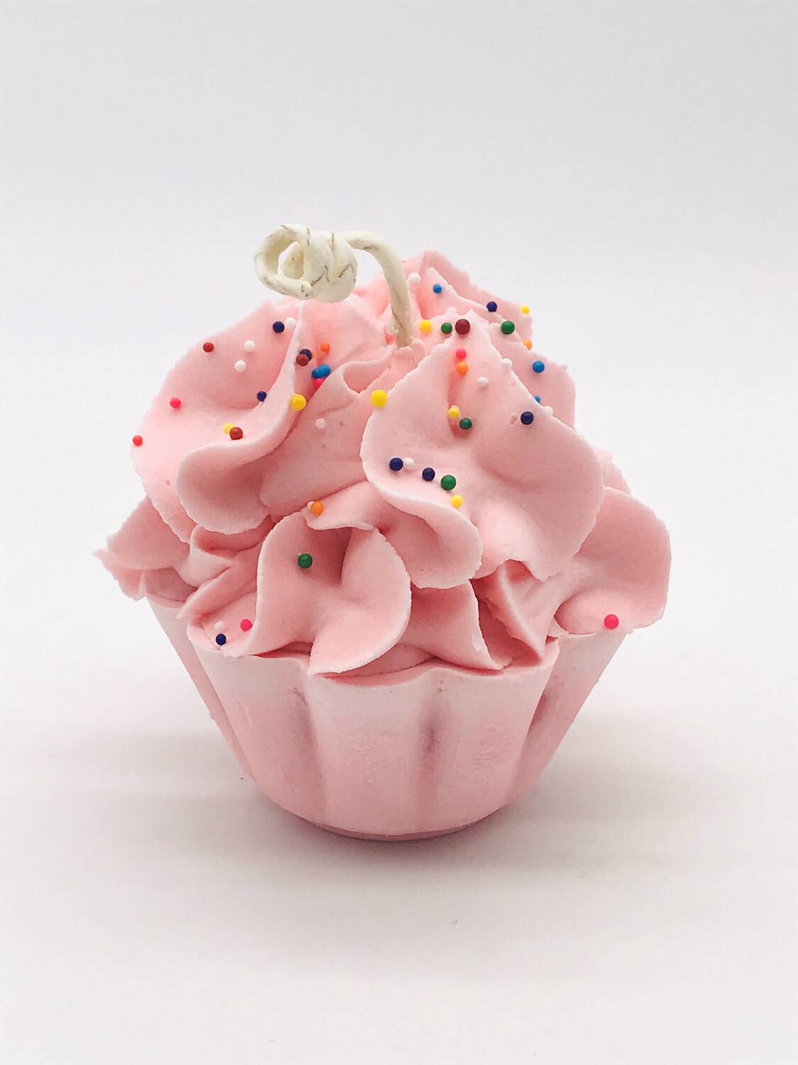 Strawberry Scented Cupcake Candle
