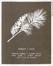 Cameron Ramato Pinot Grigio 2019 - Willamette Valley, OR (2286)
