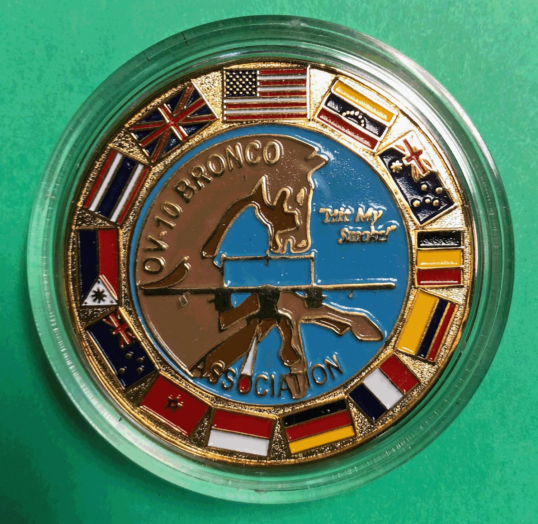 Challenge Coin, OV-10 Bronco Association