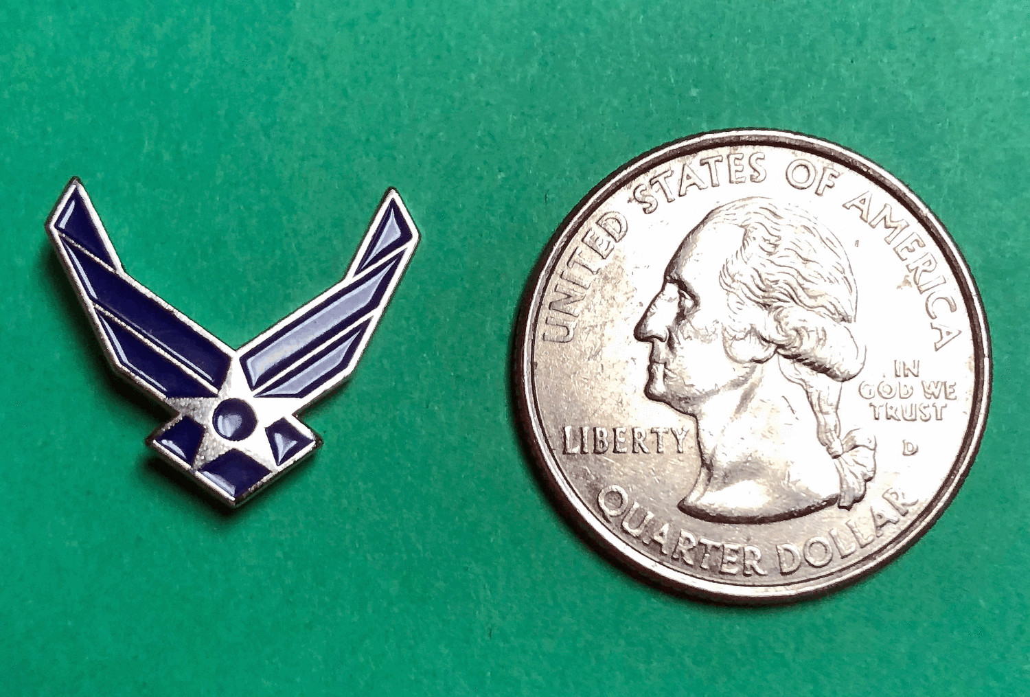 Lapel Pins, US Air Force Insignia
