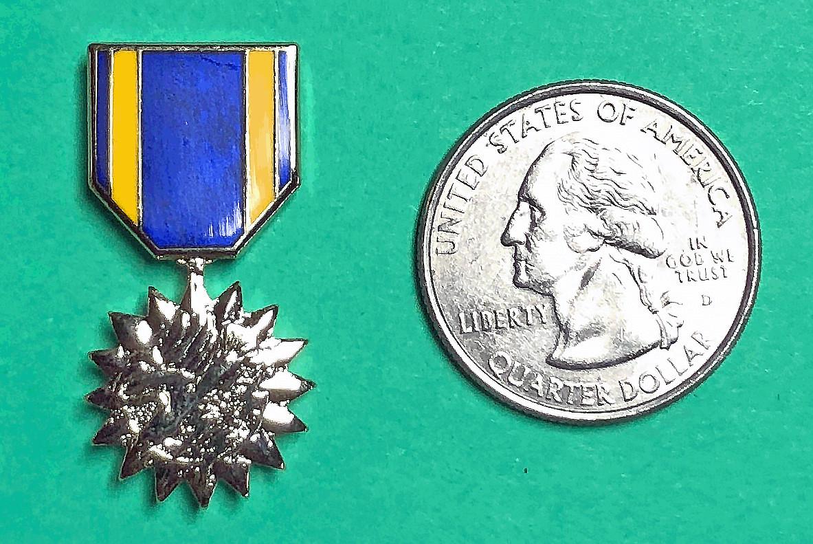 Lapel Pin, Air Medal, miniature