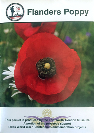 WWI Flanders Poppy Seeds