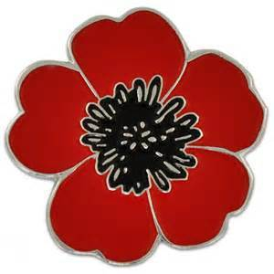 Lapel Pin, WWI Poppy