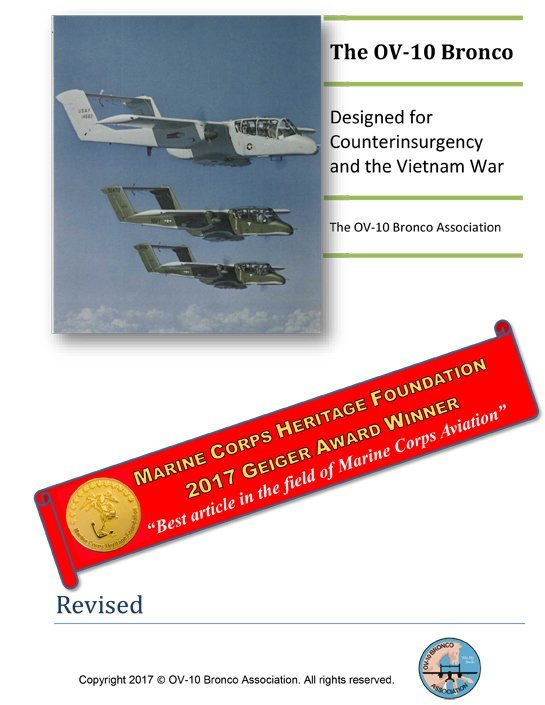 The OV-10 Bronco: Designed for Counterinsurgency and the Vietnam War (Electronic Edition)