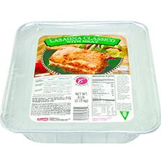 Frozen Lasagna w/ Meat Entree (6 lb)