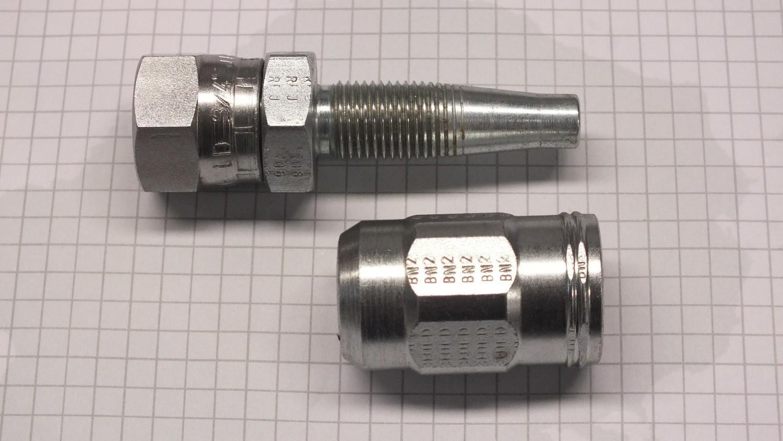 Hydraulic Hose Fitting 5//8 in. Steel