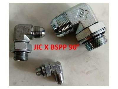 BSPP x  JIC Elbow 90° Adapters Male x Male