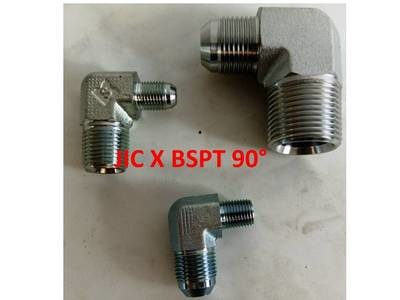 BSPT x  JIC Elbow 90° Adapters Male x Male