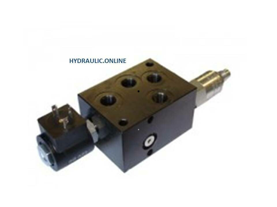 QUICK HITCH VALVE WITH PRESSURE REDUCING