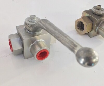 3 WAY T VALVE HYDRAULIC 3-PORT 315Bar/4250PSI BSPP ,1