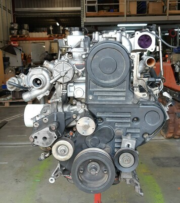 Mitsubishi Triton 4D56U 2.5 Lt 4 Cyl 16 V Turbo Engine