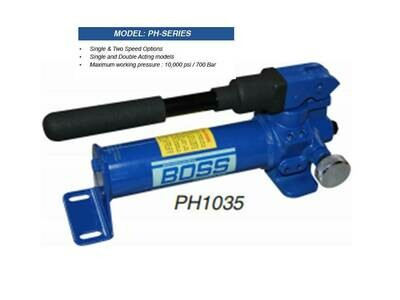 PORTA POWER HEAVY DUTY HAND PUMPS 10,000PSI 700BAR One & Two stage pumps