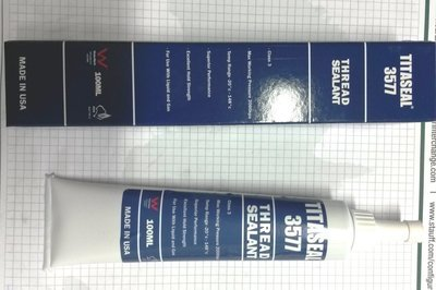THREAD SEALANT , HYDRAULIC HIGH STRENGTH, HIGH PRESSURE TITA SEAL USA MADE