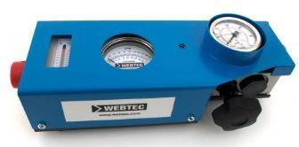FLOW TEST METER 200LPM WEBTECH , REVERSIBLE FLOW 10-200Lpm