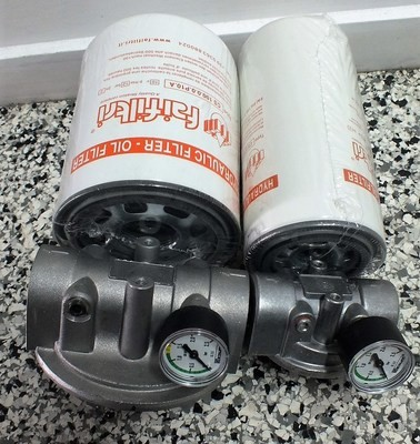 Hydraulic Oil Spin on SUCTION SIDE Filter Assembly 3/4