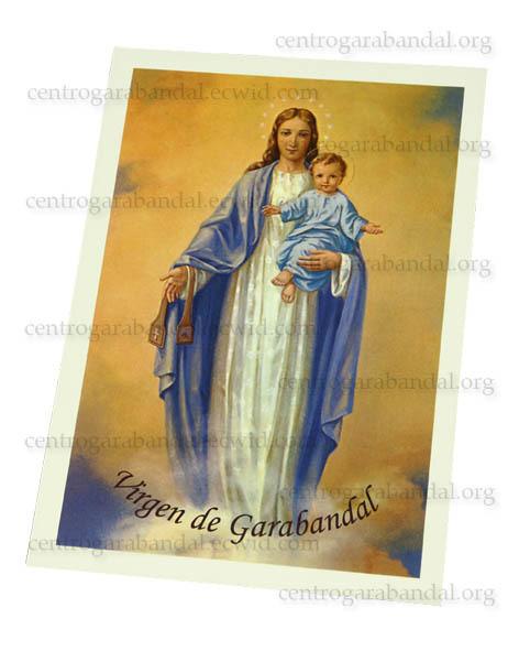 Lámina Virgen del Carmen