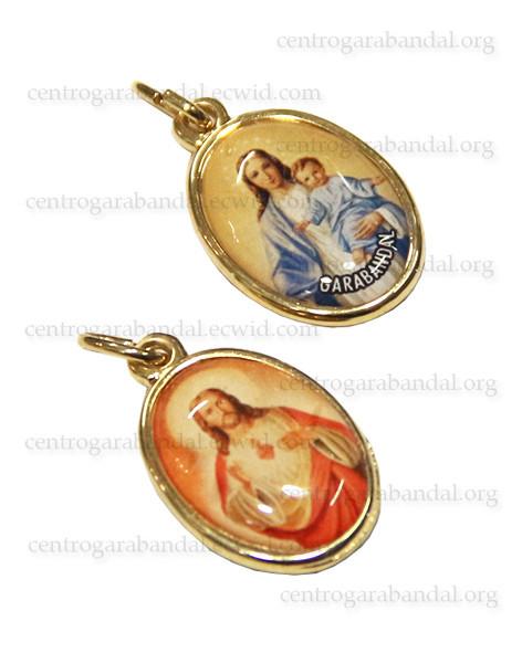 Medalla Escapulario Ovalada