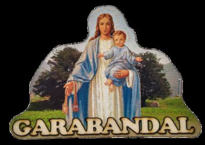 Imán Virgen en los Pinos
