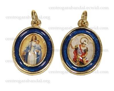 Medalla Virgen-San Miguel