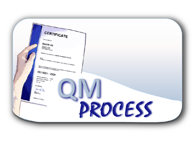 Kvalitetsstyring QM Process DEMO