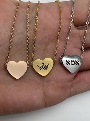 New! Mother's Day Heart Karana Necklace