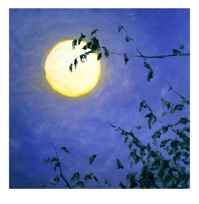 'Full Moon II' Giclée